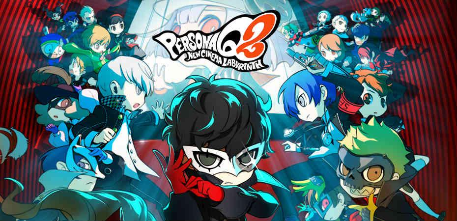 Artwork divulgada junto do primeiro trailer de Persona Q2