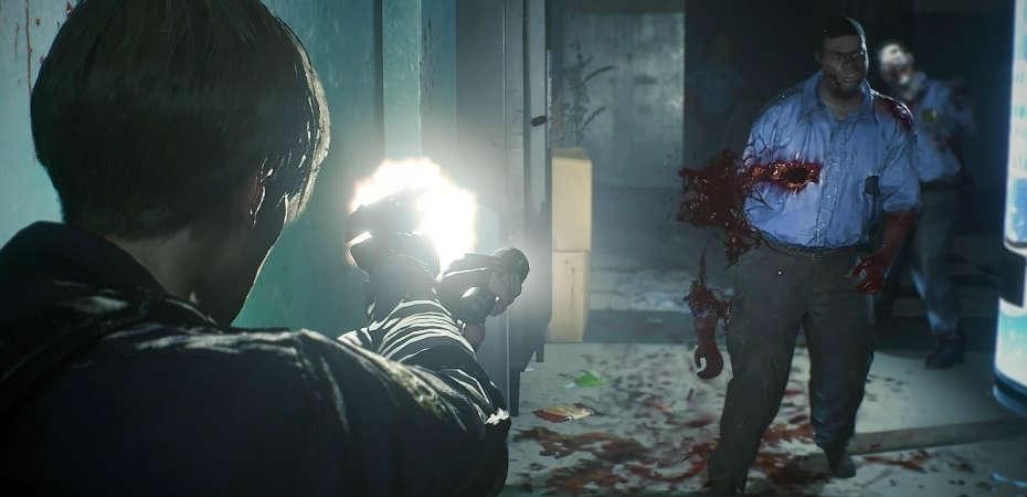 Screenshot de Resident Evil 2, que terá versão Z Version