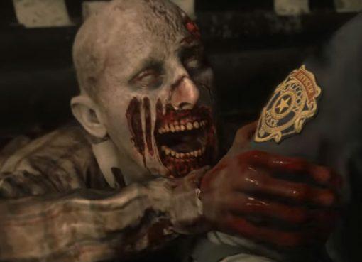 Screenshot de gameplay de Resident Evil 2