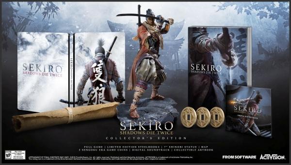 Edição de colecionador de Sekiro: Shadows Die Twice