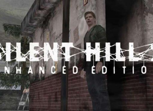 Screenshot e logo de Silent Hill 2 Enhanced Edition