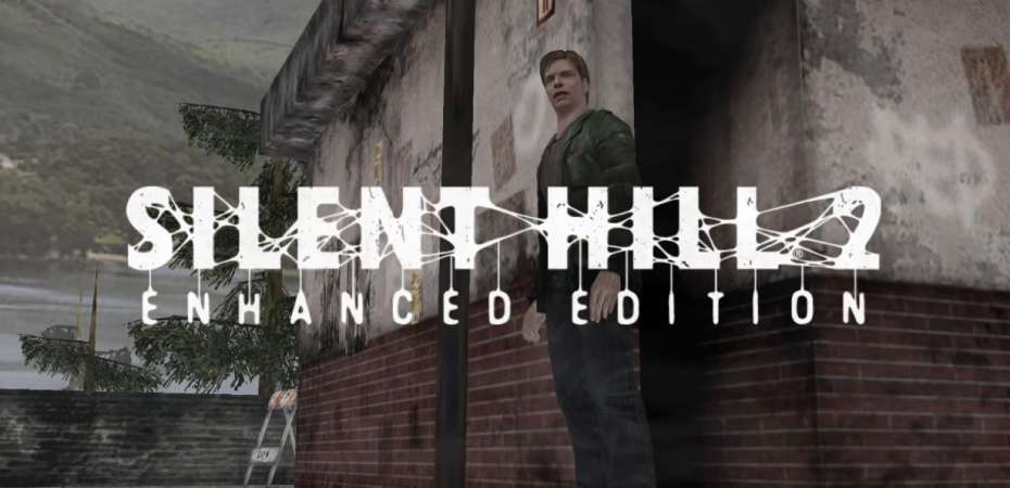Screenshot e logo de Silent Hill 2 Enhanced Edition