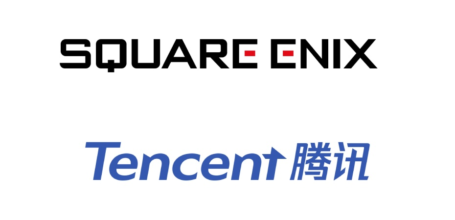 Logos de Square Enix e Tencent