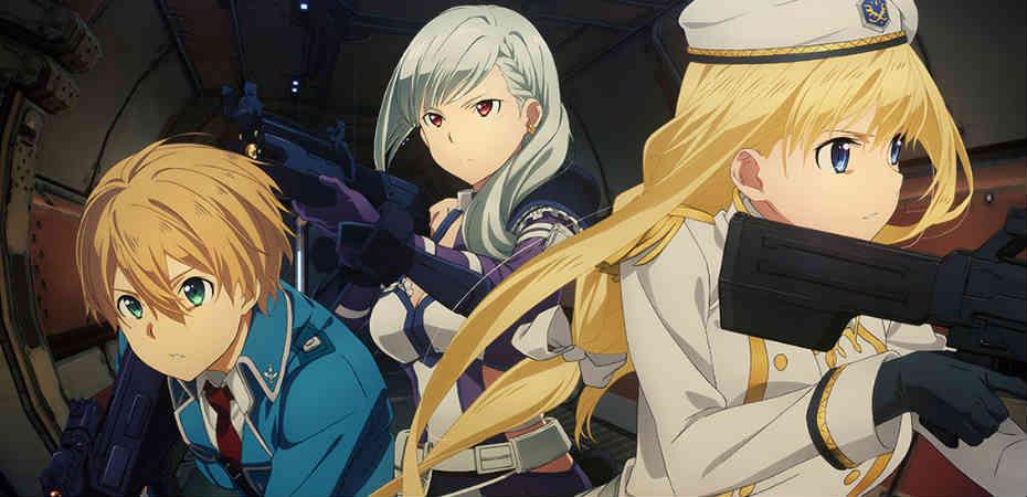"Ilustração principal da DLC ""Collapse of Balance"" de Sword Art Online: Fatal Bullet"