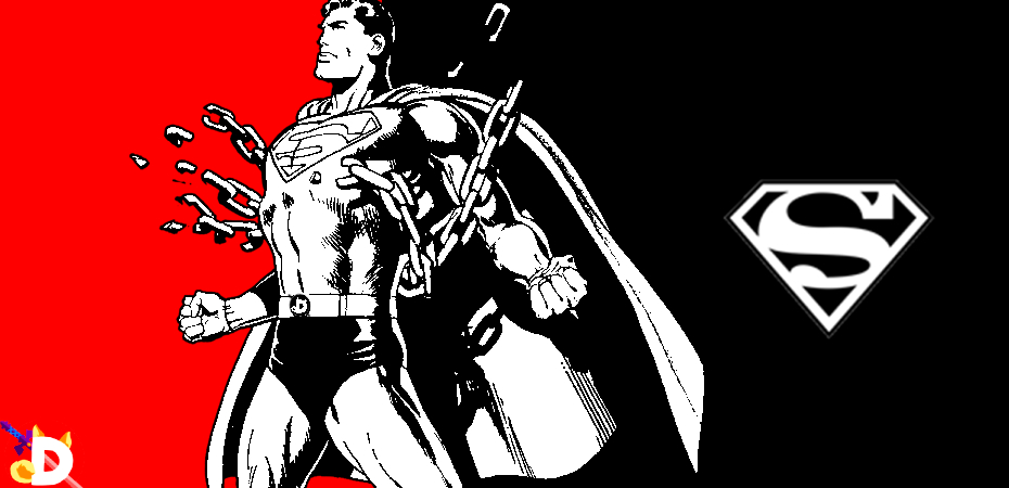 Superman no estilo Persona 5