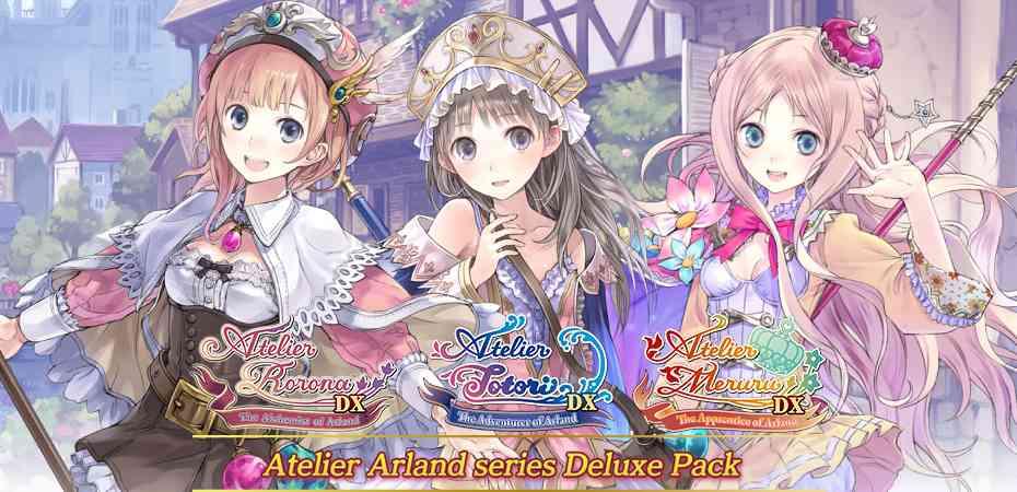 Coletânea <i>Atelier Arland Series Deluxe Pack</i> vindo para o ocidente
