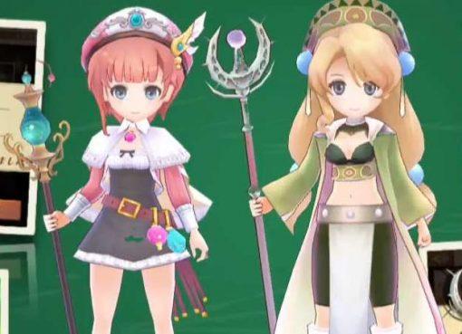 Meruru e Marie em Atelier Online