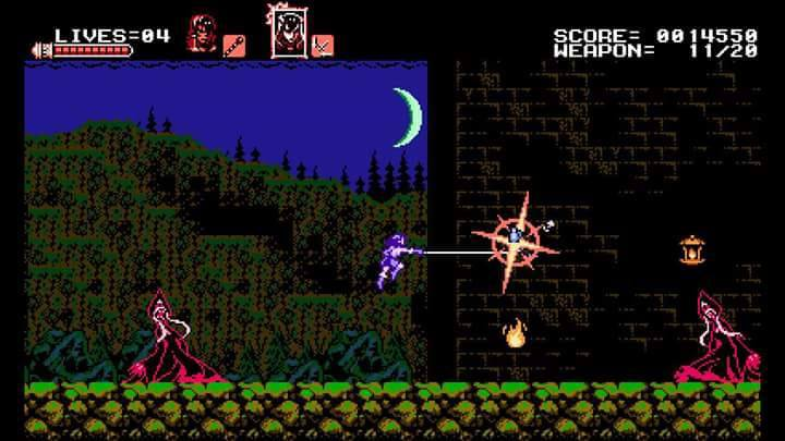 Screenshot de Bloodstained: Curse of the Moon