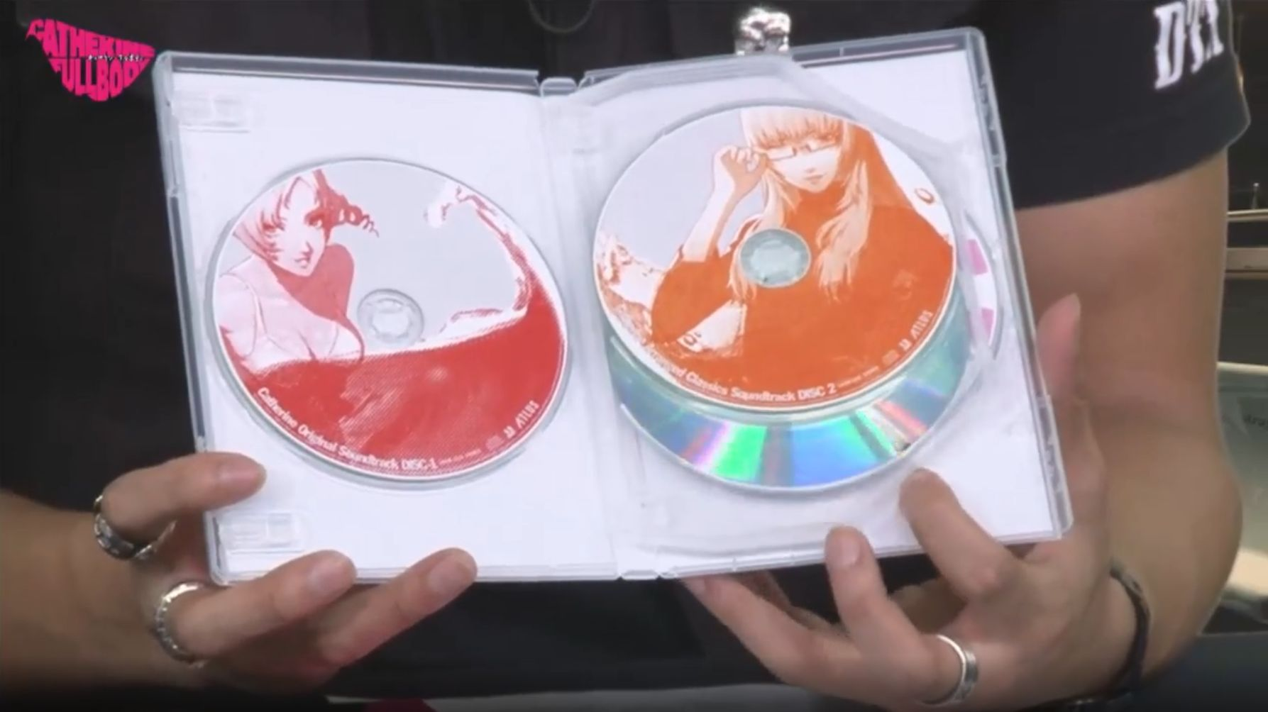 Discos de trilha sonora de Catherine: Full Body