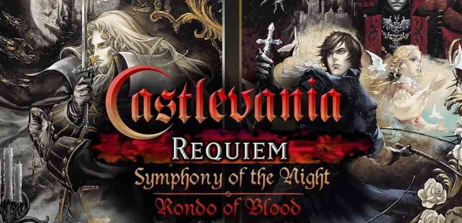 <i>Castlevania Requiem: Symphony of the Night & Rondo of Blood</i> anunciado oficialmente para PS4