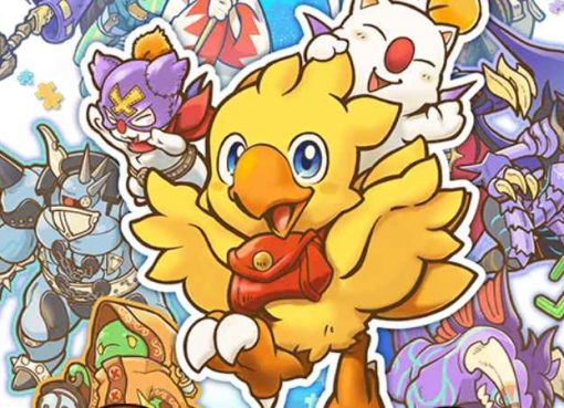 Artwork de Chocobo's Mystery Dungeon Every Buddy