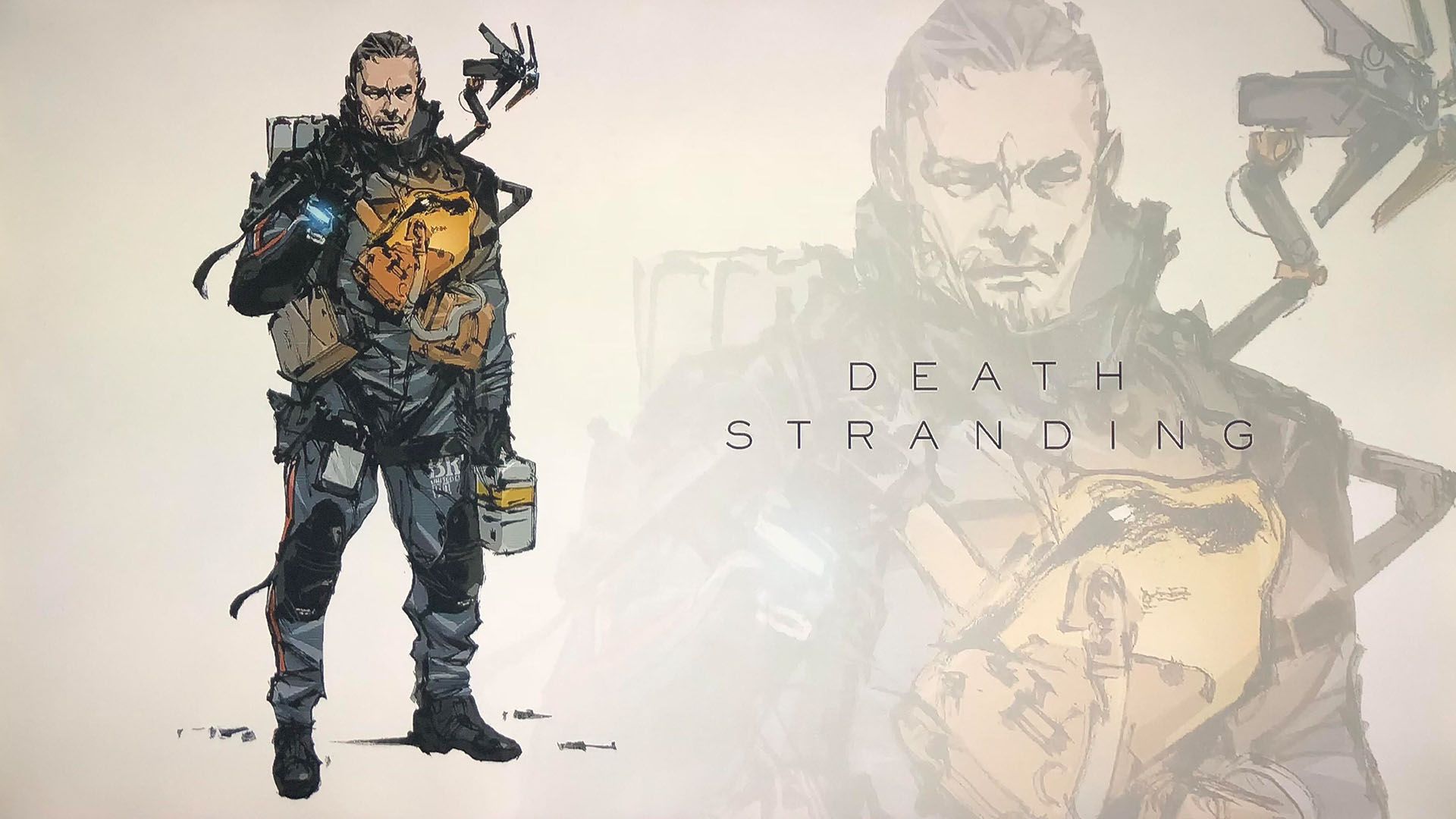 Sam Bridges de Death Stranding