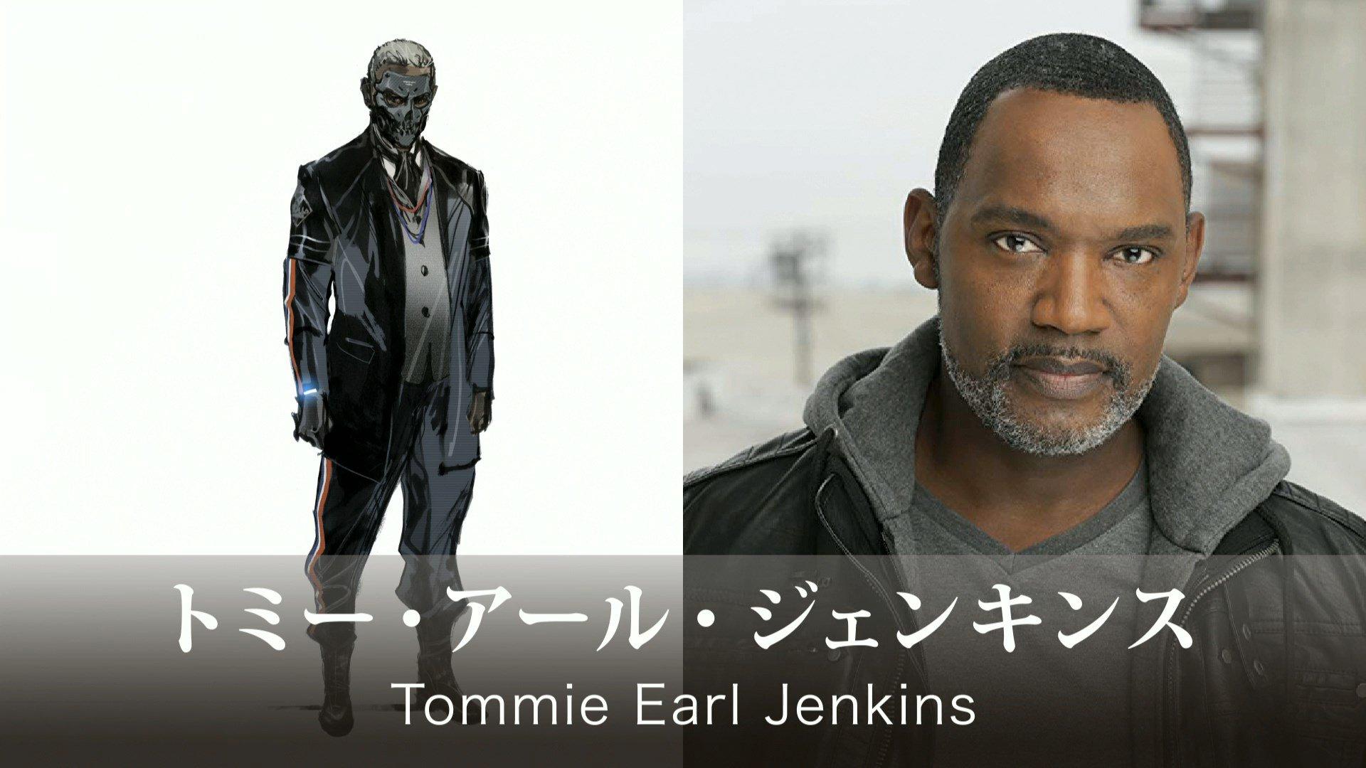 Personagem de Tommie Earl Jenkins em Death Stranding