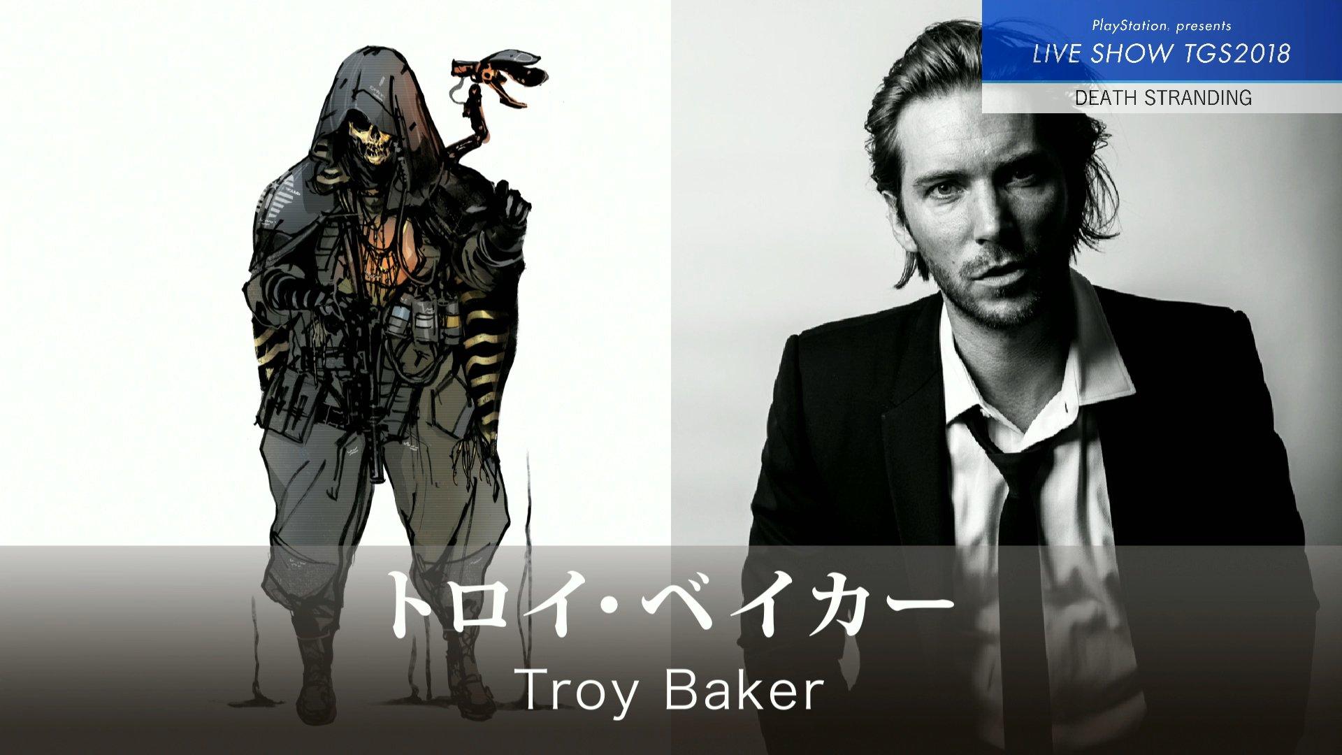 Personagem de Troy Baker em Death Stranding
