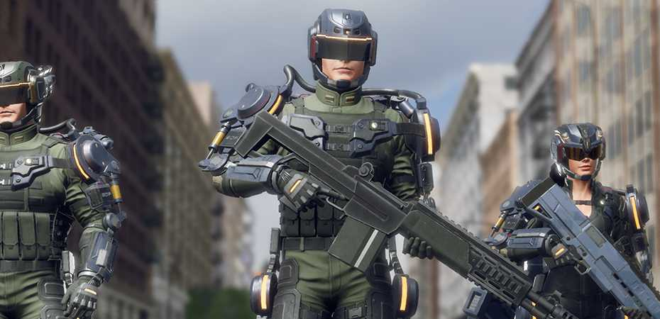 Screenshot de Earth Defense Force: Iron Rain