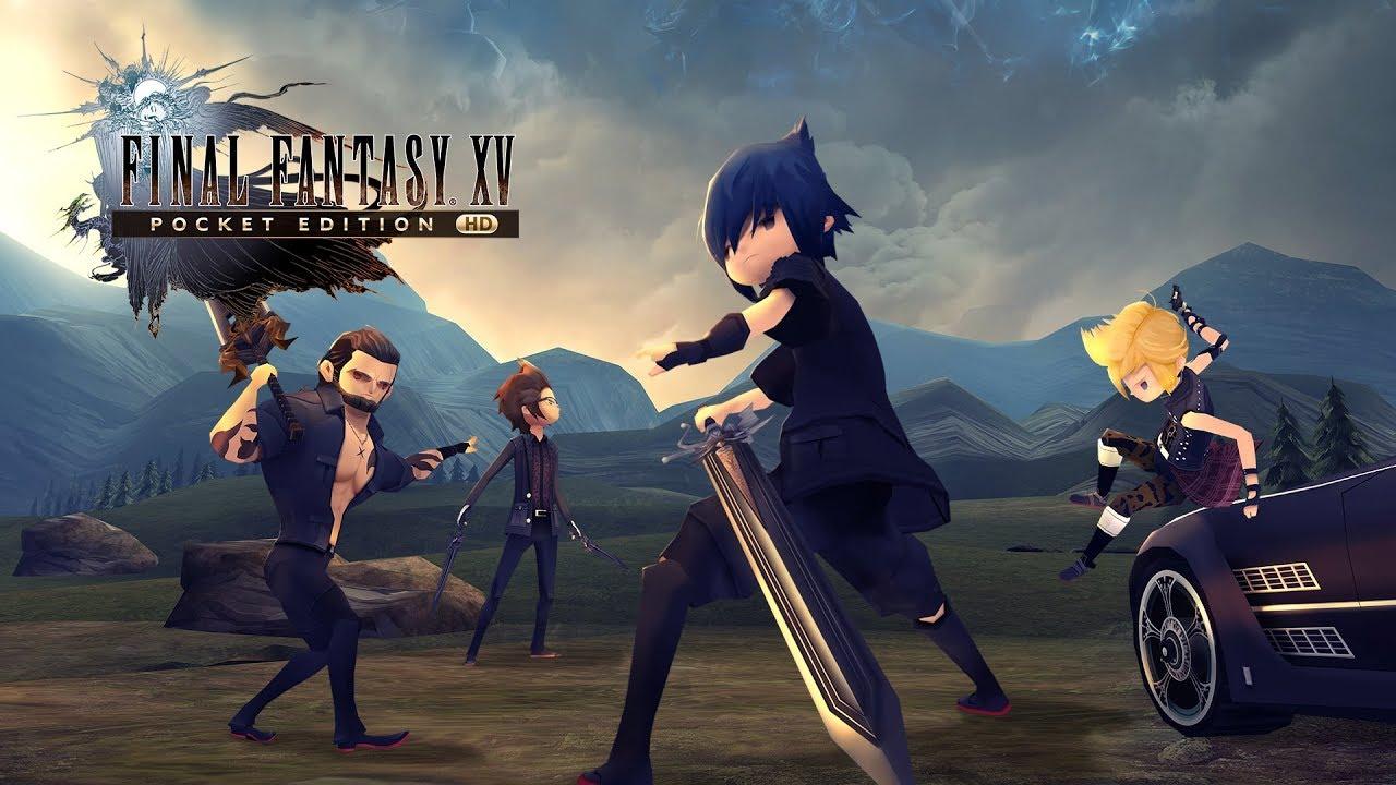 Artwork principal de Final Fantasy XV Pocket Edition HD