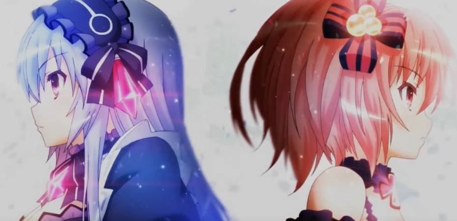 Imagem de personagens do jogo Fairy Fencer F Advent Dark Force