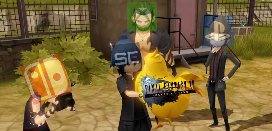 Screenshot de FFXV Pocket Edition HD