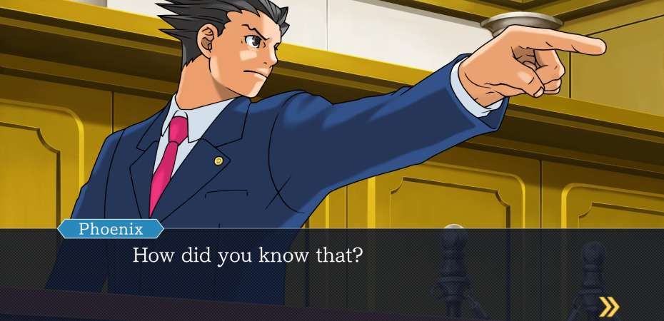 Screenshot de Phoenix Wright: Ace Attorney Trilogy