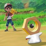 Meltan no jogo Pokémon: Let's Go Pikachu & Let's Go Eevee