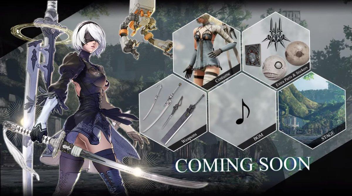 2B e conteúdo adicional em Soulcalibur VI