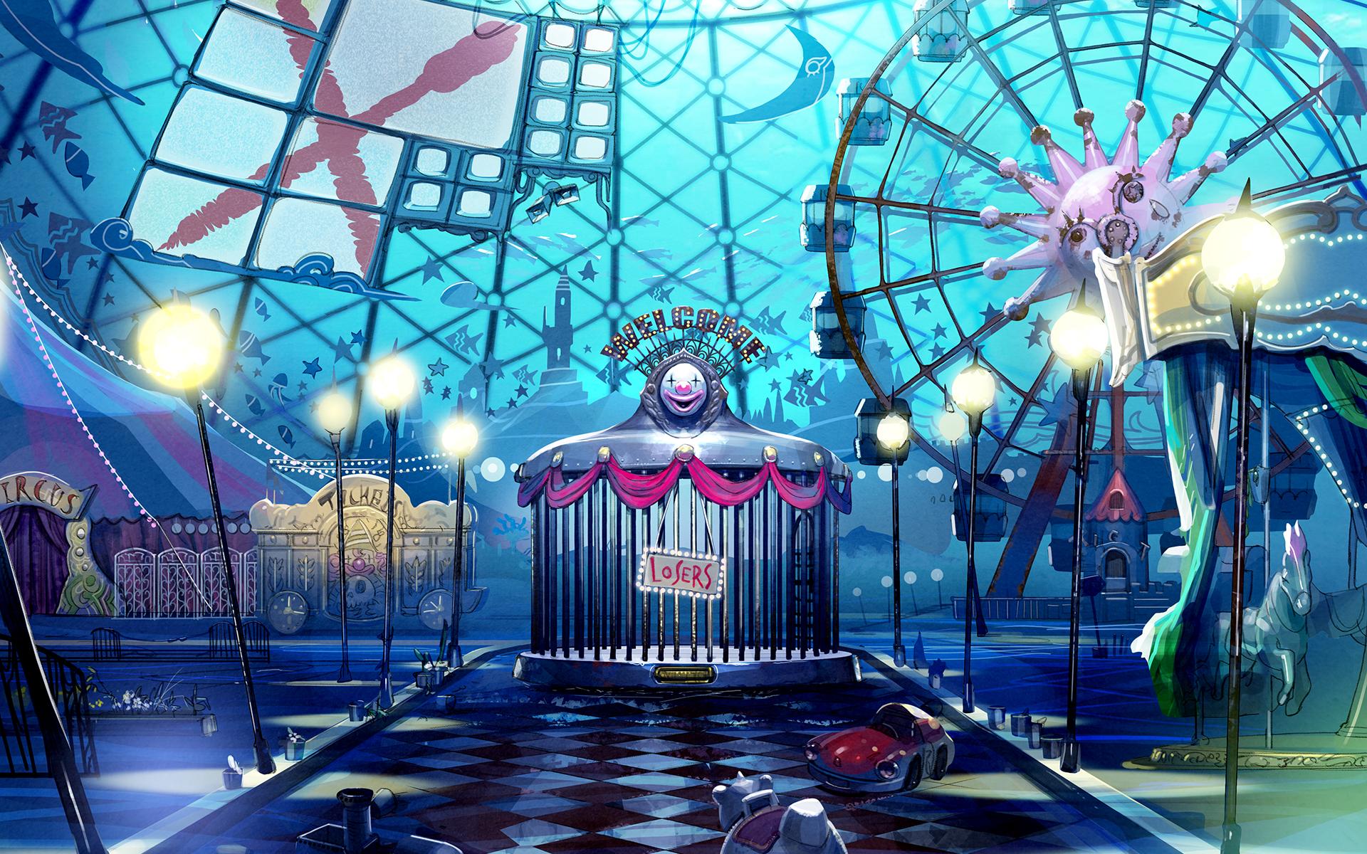 Parque de diversões submerso de Death March Club