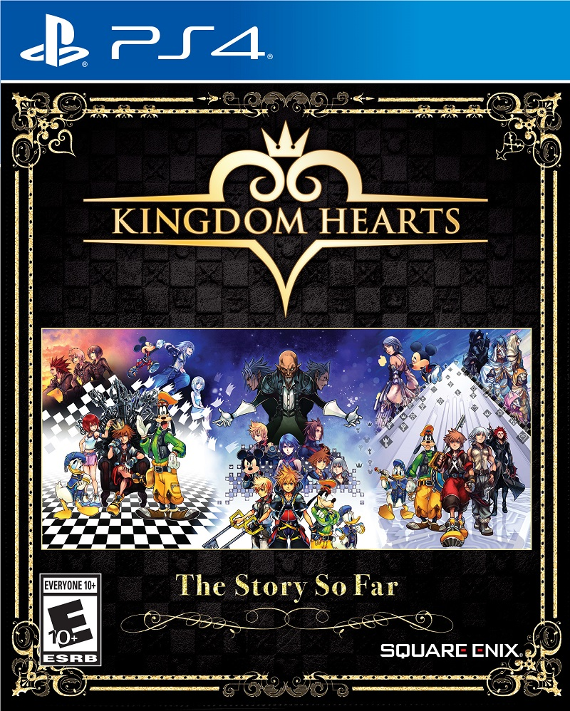 Capa de Kingdom Hearts: The Story So Far