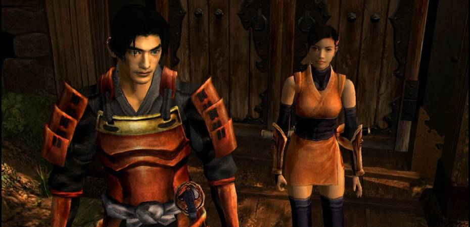 Screenshot do remaster de Onimusha Warlords