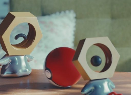 Imagem do novo Pokémon Meltan