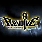 Logotipo e ilustração teaser de Revolve8: Episodic Dueling