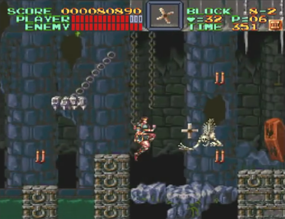 Screenshot de Super Castlevania IV