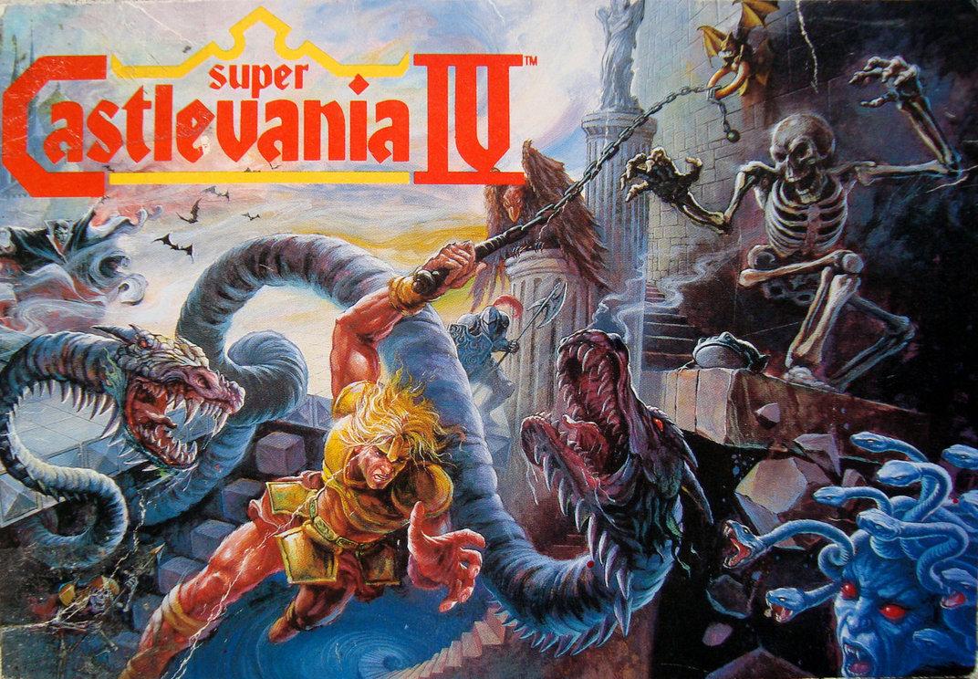Arte de Super Castlevania IV
