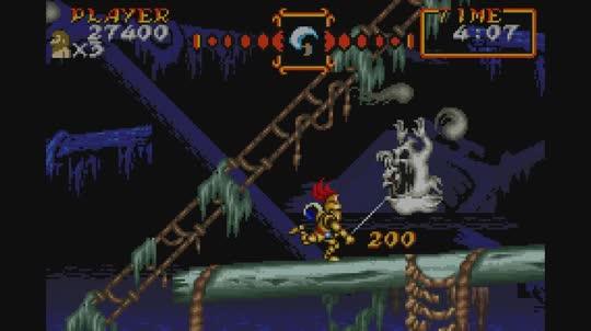 Screenshot de Super Ghouls 'n Ghosts