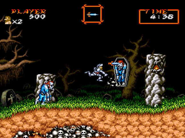 Screenshot de Super Ghouls 'n Ghosts