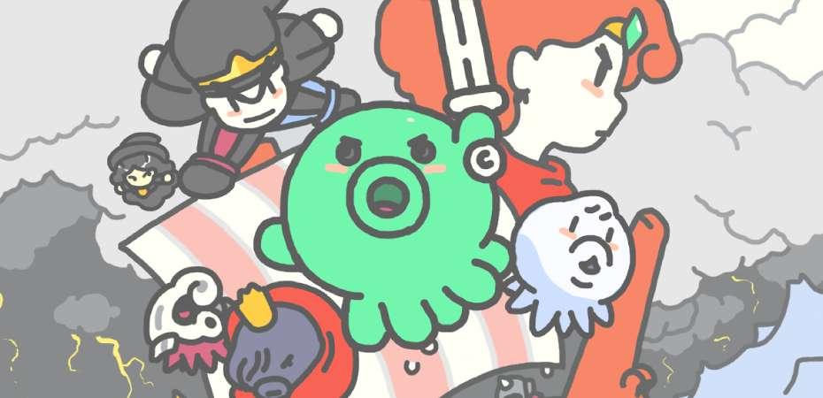 <i>Save me Mr Tako!</i>, jogo de plataforma estilo Game Boy, ganha data de lançamento