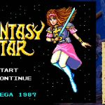 Screenshot de Sega Ages Phantasy Star