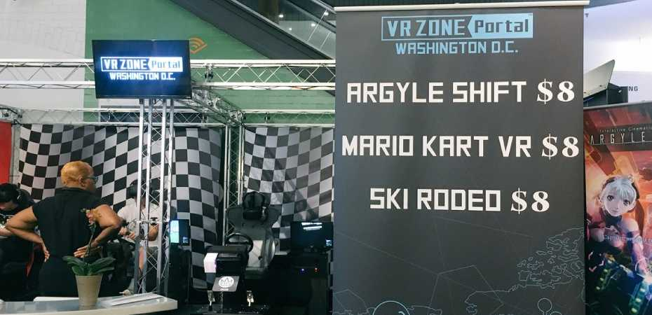 Foto da VR Zone Portal US