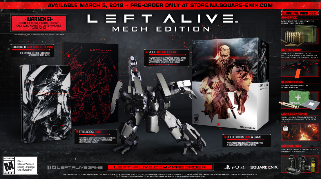 Mech Edition de Left Alive