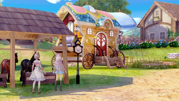 """Carruagem atelier"" de Piana em Atelier Lulua: The Scion of Arland"