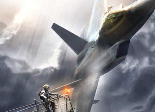 Arte de Ace Combat 7: Skies Uknown.