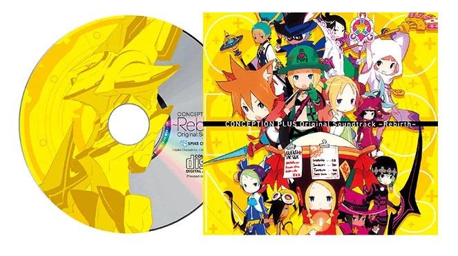 Disco de trilha sonora de Conception Plus
