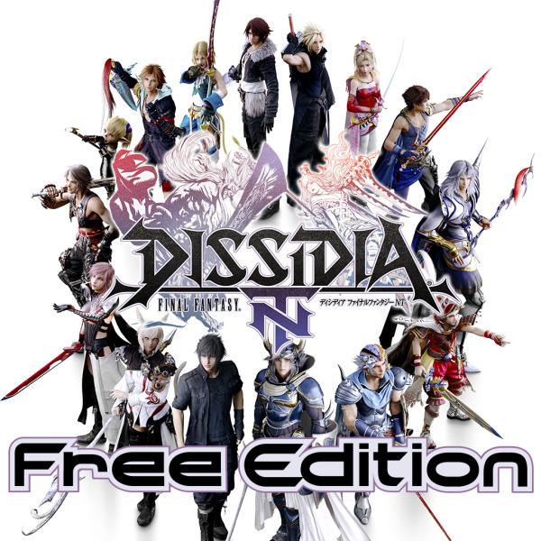 Imagem promocional de Dissidia Final Fantasy NT Free Edition