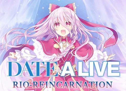 Arte e logotipo de Date A Live: Rio Reincarnation