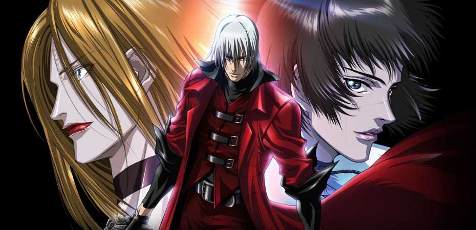 Arte da série animada de Devil May Cry