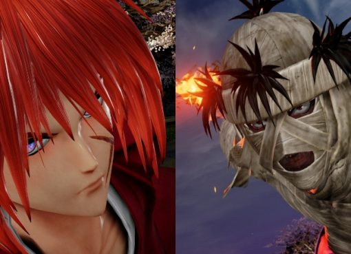 Personagens de Rurouni Kenshin em Jump Force
