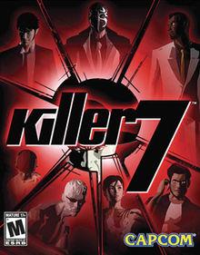 Arte de capa de Killer7