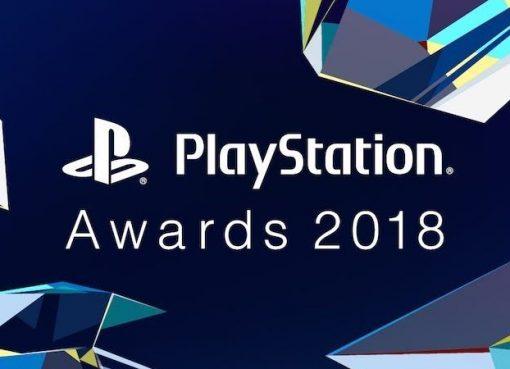 Imagem promocional da premiação PlayStation Awards 2018