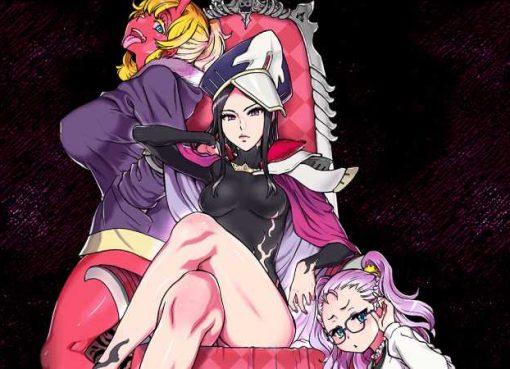 Arte das novas personagens de Queen's Blade: White Triangle