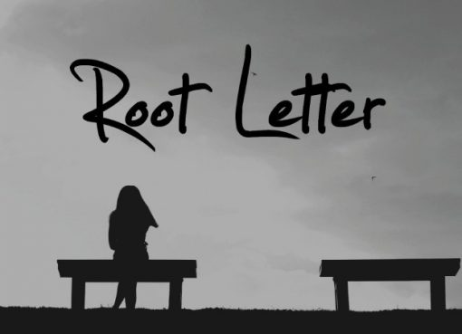 Imagem promocional do filme de Root Letter