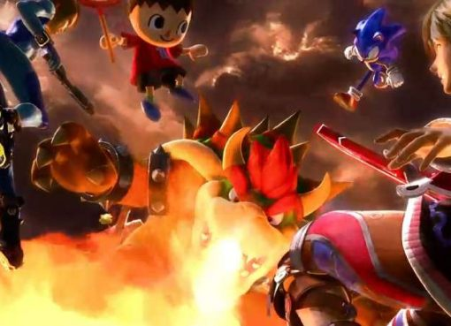 Screenshot de trailer e possível abertura de Super Smash Bros. Ultimate